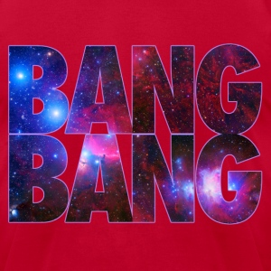 BANG BANG! Galaxy Design Tee By Skytop - Men's T-Shirt by American Apparel
