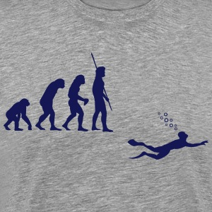 Evolution Diving Shirt - Men's Premium T-Shirt