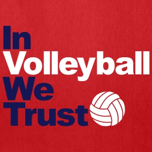 In Volleyball we trust Bags & backpacks - Tote Bag
