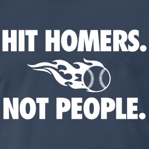 Hit Homers T-Shirts - Men's Premium T-Shirt
