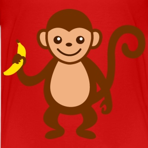 Monkey with Banana.png Kids' Shirts - Kids' Premium T-Shirt