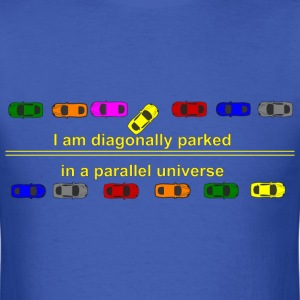 diagonally parked T-Shirts - Men's T-Shirt