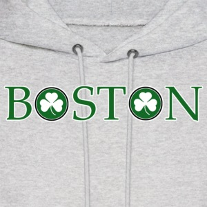 Boston O Irish Shamrock Apparel  Hoodies - Men's Hoodie