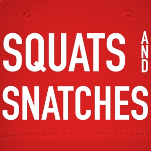 Squats And Snatches Wod Caps - Baseball Cap