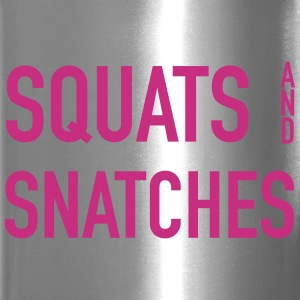 Squats And Snatches Wod Bottles & Mugs - Travel Mug