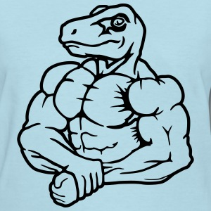 Raptor strong man Women's T-Shirts - Women's T-Shirt