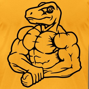 Raptor strong man T-Shirts - Men's T-Shirt by American Apparel