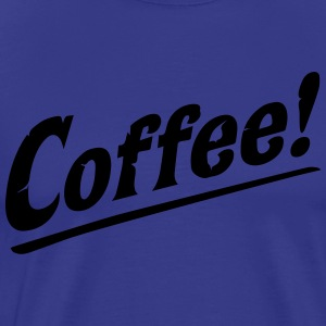 Coffee! Love Java Cool Retro Vintage Coffee T-Shirts - Men's Premium T-Shirt
