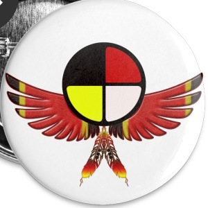Medicine Wheel - Small Buttons