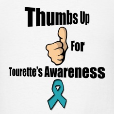 Thumbs Up for Tourette's Awareness! Men's T-Shirt