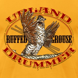 grouse_upland_drummer T-Shirts - Men's T-Shirt by American Apparel