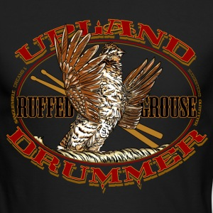 grouse_upland_drummer Long Sleeve Shirts - Men's Long Sleeve T-Shirt by Next Level