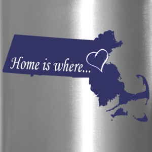 Home Is Where...Boston Apparel T-shirts Bottles & Mugs - Travel Mug