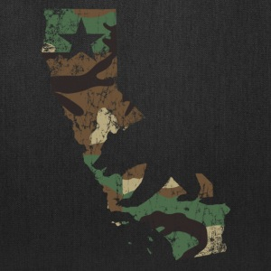 Camo California State Bear Flag Bags & backpacks - Tote Bag