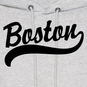 Boston Logo Apparel T-shirts Hoodies - Men's Hoodie