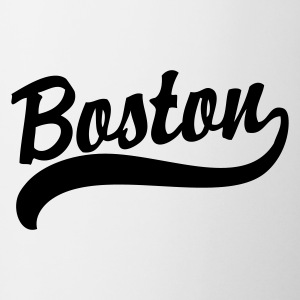 Boston Logo Apparel T-shirts Bottles & Mugs - Coffee/Tea Mug