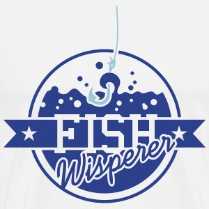 Fish Whisperer (2c) T-Shirts - Men's Premium T-Shirt