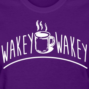 Wakey Wakey Coffee Funny Cute Apparel Women's T-Shirts - Women's T-Shirt