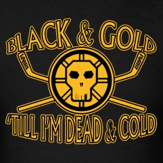 Black & Gold till I'm Dead & Cold - tedsthreads.co