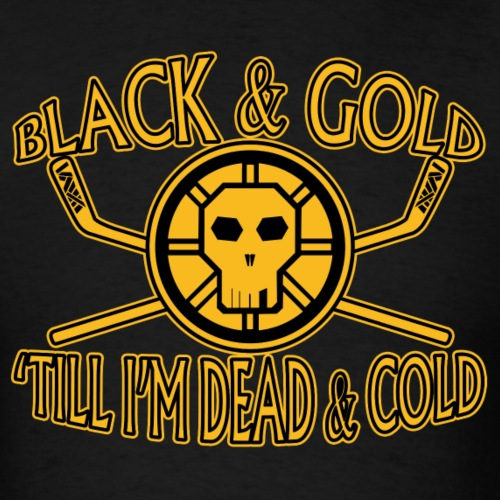 Back & Gold till I'm Dead & Cold - tedsthreads.co