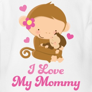 I Love My Mommy Baby & Toddler Shirts - Short Sleeve Baby Bodysuit