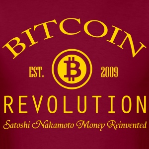 Bitcoin Revolution Swag - Men's T-Shirt