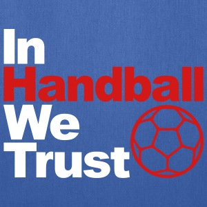 In handball we trust Bags & backpacks - Tote Bag
