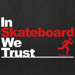 In Skateboard we trust Bags & backpacks - Tote Bag