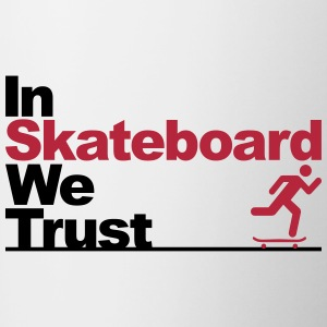 In Skateboard we trust Bottles & Mugs - Contrast Coffee Mug