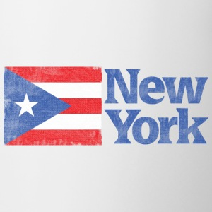 New York Puertorican Flag Apparel Bottles & Mugs - Coffee/Tea Mug