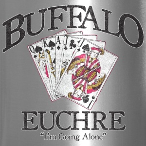 Buffalo Euchre Apparel Clothing Shirts Bottles & Mugs - Travel Mug