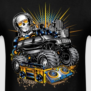 Monster Cadillac SUV T-Shirts - Men's T-Shirt
