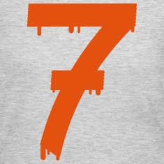 lucky number seven Long Sleeve Shirts