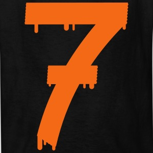 lucky number seven Kids' Shirts - Kids' T-Shirt