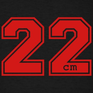 22 centimeter T-Shirts - Men's T-Shirt
