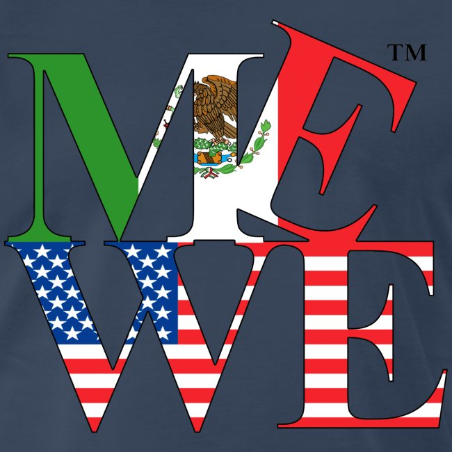 Me We Mexican Tee