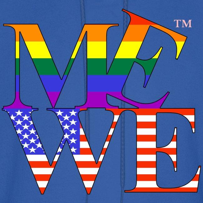 Me We LGBT Hoody