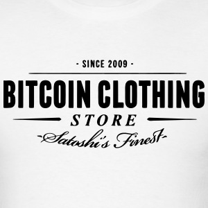 Bitcoin Store Geek - Men's T-Shirt