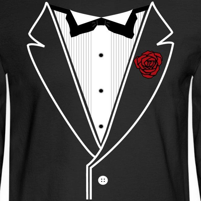 Classy Fella Long Sleeve w/ White Lines