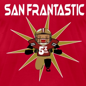 San Frantastic T-Shirts - Men's T-Shirt by American Apparel