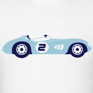 Race Cars (2c)++2014 T-Shirts - Men's T-Shirt
