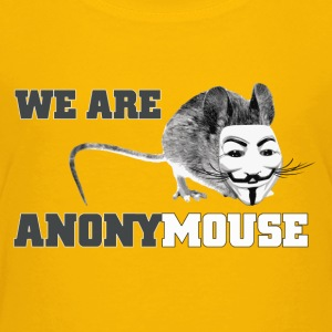 We are anony mouse - anonymous Baby & Toddler Shirts - Toddler Premium T-Shirt
