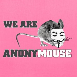 We are anony mouse - anonymous Bags & backpacks - Tote Bag