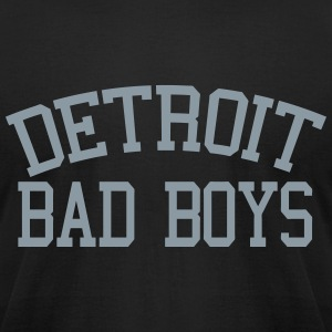Detroit Bad Boys T-Shirts - Men's T-Shirt by American Apparel