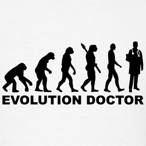 Evolution Doctor T-Shirts - Men's T-Shirt