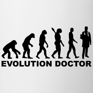 Evolution Doctor Bottles & Mugs - Contrast Coffee Mug