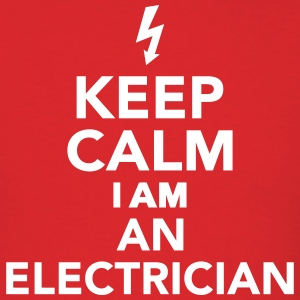 Keep calm I'm a electrician T-Shirts - Men's T-Shirt