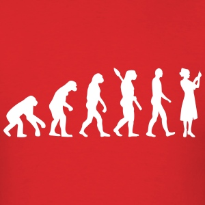 Evolution Nurse T-Shirts - Men's T-Shirt