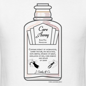 Care-Away for Hangover - Men's T-Shirt