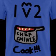 Design ~ I Love to Cook!!! (Mens) | Ol' Bum-Bum